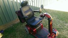 Red Pride Sport Celebrity Mobility Scooter