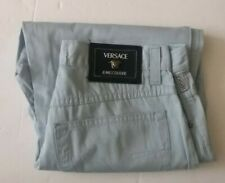 Light Blue Vintage Versace Jeans Couture, High Waisted