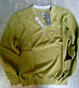 EXTRA LANG Kitaro Sweatshirt Überlänge Herren Pullover Rot Extra langer Arm TALL