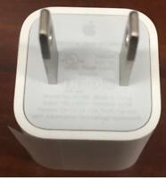 Authentic Apple 5W USB Power Adapter Charger Wall Plug Cube for iPhone iPod