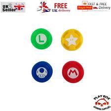 Silicone Thumbstick Grip Cover Mario Luigi for Nintendo Switch joycon controller