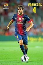 FC BARCELONA POSTER CESC FABREGAS IN ACTION