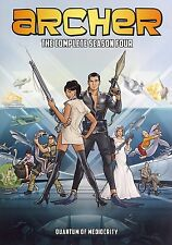 Archer: The Complete Fourth Season 4 Four (DVD) - NEW!!