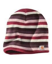 Carhartt Striped Knit Beanie - Light Orchid Womens Warm Winter Ski Hat