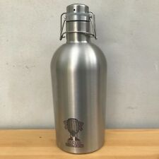 Insulated double walled Swing Top Metal Beer Growler 2L 64oz bottle keg steel