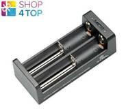 XTAR MC2 MICRO USB BATTERIEN LADEGERÄT Li-ion 18650 LED INDICATOR 4.2V DC 5V NEU