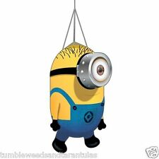 Windsock Kite Tail Despicable Me Minion Carl + Free Metal Swivel Hook