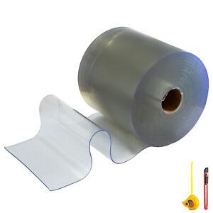 PVC Streifenvorhang Leicht zu beschneiden Rollenware Industrievorhang 300mm 25m