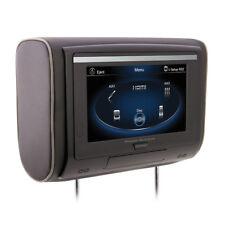 "Power Acoustik 9"" Touchscreen Car Headrest Monitor DVD Player HDMI USB SD IR AV"