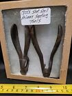PAIR OF AUTHENTIC 1800'S SHOT SHELL PRIMER SEATING TOOLS - NEAR MINTOriginal Period Items - 4070