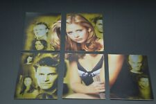 New listing Buffy 10th Anniversary Forever puzzle card lot F-1, F-2, F-4, F-5, F-6