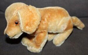Cute! VINTAGE Mohair STUFFED DOG Steiff?