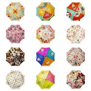 Designer Printed Folding Umbrellas - Unique Gift Ideas - Gift Box Included
