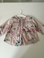 NEXT Baby Girl Floral Top Shirt 12-18 Months Immaculate
