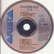 ALAN PARSON'S PROJECT - EVE [1979] EARLY 1984 WEST GERMANY TARGET ERA ARISTA CD
