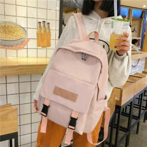 Women Ladies Large School Bags Teenage Girls Anti Theft Backpack Travel Handbag