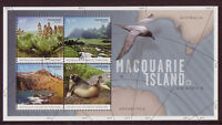 AUSTRALIA ANTARCTIC 2010 SPECIAL OFFER MACQUARIE ISLAND MINIATURE SHEET CTO