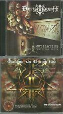 RARE / CD - DEATH CRUSH : MUTILATING THE CHRISTIAN FAITH / METAL HARD / LIKE NEW