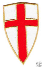 Crusaders Templar Knights Order Shield Cross PATCH