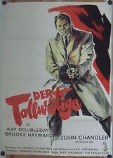 TOLLWÜTIGE (Filmplakat / Kinoplakat '61) - JOHN CHANDLER / TELLY SAVALAS