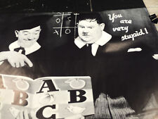 Laurel and Hardy 1989 You Are Very Stupid comedians vintage wall poster PBX3201