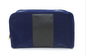 PACO RABANNE PURE XS NAVY BLUE WASH / TOILETRY BAG FOR MEN *NEW