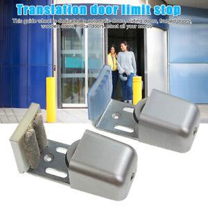Home Bottom Adjustable Length Barn Sliding Door Track Anti Swinging Floor Guide