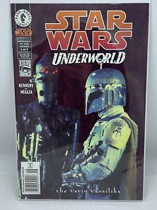 Star Wars UNDERWORLD #2 IG-88 and Boba Fett - NEWSSTAND Comic