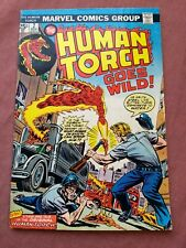 HUMAN TORCH 2 F/VF MARVEL 1975 SILVER+GOLDEN AGE REPRINTS  UNCERTIFIED MID/HIGH*