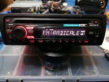 autoradio marca sony modello cdx-gt33u legge cd mp3 usb  aux  potenza 45 x 4