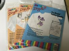 Lot of 3 - Pre-Shaded Fashion Transfers - Iron On Transfers - Dizzle - NEW