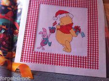 cross stitch chart CHRISTMAS Winnie the Pooh