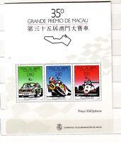 DE Macau Macao 1988 Block 10 GP MNH
