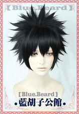 My Boku no Hero Academia Dabi Anime Costume Cosplay Wig Need Style +CAP +Track