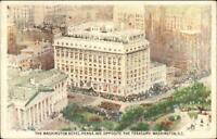 Washington DC The Washington Hotel c1930s Postcard