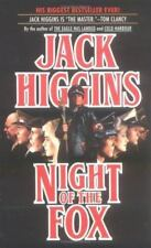 Night of the Fox by Jack Higgins (1987 Paperback) GG507