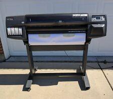 "HP Designjet 1055cm plus 36"" Large Format Inkjet Printer Plotter with Stand"