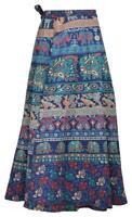 Indian Traditional Mandala Hippie Boho Wrap Cotton Long Maxi Skirt