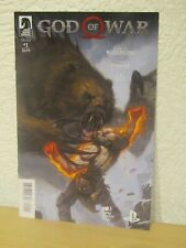 GOD OF WAR COMIC ISSUE #1 DARK HORSE 2018 ROBERSON READ ONCE EXCELLENT COND