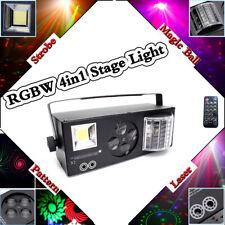 60W LED Laser Bühnenlicht Effekt RGBW Disco DJ Home Party Licht  Sound Aktiv DMX