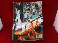 Vintage New York Jets NFL Football Official 1987 Yearbook