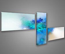 Quadri moderni astratti 180 x 70 stampe su tela canvas con telaio MIX-S_137