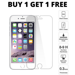For Apple iPhone 6S & 6 Tempered Glass Screen Protector – 100% Genuine