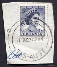 ROSS TAS 11A27AP64 CDS Australia Stamp Postmark