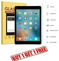 2Pc Genuine Tempered Glass Screen Protector For Apple iPad Air Air 2 1st,2nd Gen