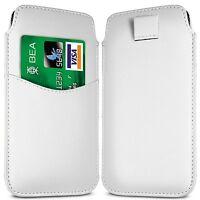 ranura para Tarjeta Lengüeta Cuero De PU Funda con tapa Samsung Galaxy S3 Mini