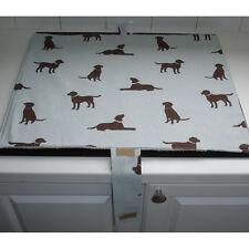 Mat Pad Cover Everhot 60 Range Chocolate Lab Labrador Labradors Dogs Duck Egg