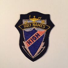 HOLY NAMES HIGH PATCH