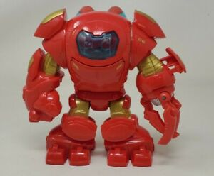 Marvel Hulkbuster Iron Man Suit Super Hero Squad Playskool Avenger Action Figure