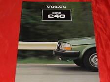 VOLVO 244 DL GL GLE Turbo GL D6 245 Van DL GL GLI GL D6 Prospekt von 1981